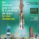 Affiche du jazz à cours & à jardins