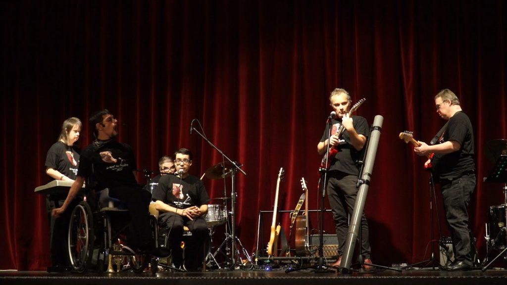 Représentation à Vaugneray du Chant des possibles