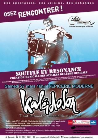 Affiche du concert KaléidoSon 2010 : Souffle et résonance